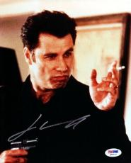 John Travolta Autographed Signed 8x10 Photo Pulp Fiction PSA/DNA #Q93112