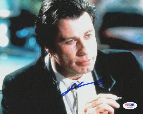 John Travolta Autographed Signed 8x10 Photo Pulp Fiction PSA/DNA #Q93194