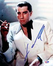 John Travolta Autographed Signed 8x10 Photo Saturday Night Fever PSA/DNA #Q93111