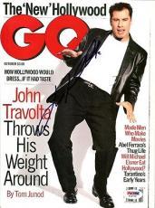 John Travolta Autographed Signed Magazine PSA/DNA #T19736