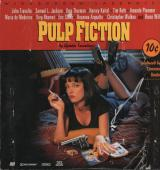 John Travolta Autographed Signed Pulp Fiction Ld cover AFTAL