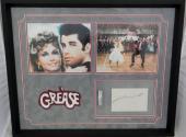 John Travolta Autographed Slabbed Cut Frame  PSA/DNA Authentic 83050802