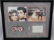 John Travolta Autographed Slabbed Cut Frame  PSA/DNA Authentic 83050802