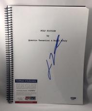 JOHN TRAVOLTA Autograph/Signed Pulp Fiction Script Book -PSA/DNA COA