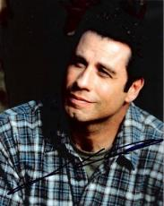 JOHN TRAVOLTA (CASUAL LOOK) Autographed Color Photo
