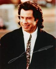 JOHN TRAVOLTA (CLOSE UP) Signed 8x10 Color Photo