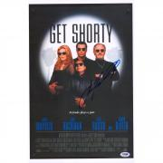 "John Travolta Get Shorty Autographed 12"" x 18"" Movie Poster - PSA/DNA"