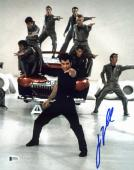 John Travolta Grease Signed 11x14 Photo Autographed BAS #D17551
