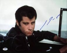 John Travolta Grease Signed 11X14 Photo Autographed PSA/DNA #U23764