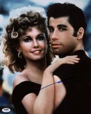 John Travolta Grease Signed 11X14 Photo Autographed PSA/DNA #U59245