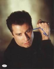 JOHN TRAVOLTA (Grease) signed 11x14  photo -JSA #F87903