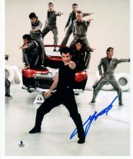 John Travolta Grease signed 8x10 photo Beckett BAS Authentic autograph