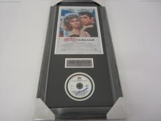 John Travolta GREASE signed autographed framed matted music CD soundtrack JSA