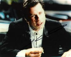 JOHN TRAVOLTA (GREAT ACTOR!) Signed 8x10 Color Photo