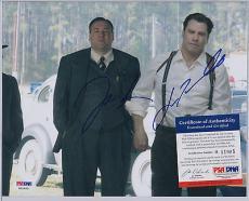 John Travolta James Gandolfini Dual Signed Autographed 8x10 Photo Psa/dna