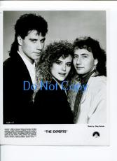 John Travolta Kelly Preston Arye Gross The Experts Original Press Movie Photo