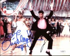 John Travolta & Olivia Newton John Grease Signed 8X10 Photo JSA E92180