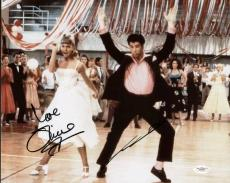 John Travolta & Olivia Newton John Signed 11X14 Photo JSA #E82088