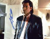 John Travolta Pulp Fiction Signed 11x14 Photo Autographed BAS #D17552