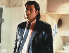 John Travolta (Pulp Fiction ) signed 11x14 photo -JSA #F87902