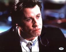 John Travolta Pulp Fiction Signed 11X14 Photo PSA/DNA #AC43181