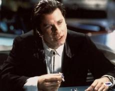 John Travolta Pulp Fiction Signed 11x14 Photo Psa/dna #l66620