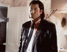John Travolta Pulp Fiction Signed 11X14 Photo PSA/DNA #T76073