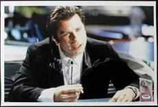 John Travolta Pulp Fiction Signed 12X18 Photo PSA/DNA #T50454