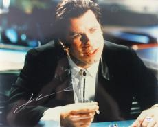 John Travolta Pulp Fiction Signed 16X20 Photo PSA/DNA #W83944