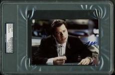 John Travolta Pulp Fiction Signed 4X6 Photo Autograph PSA/DNA Slabbed