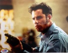 John Travolta (Pulp Fiction) Signed 8x10 Photo PSA# P34258