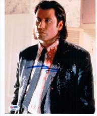 John Travolta Pulp Fiction signed 8x10 photo PSA/DNA autograph