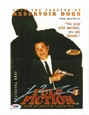 John Travolta Pulp Fiction Signed 8X10 Photo PSA/DNA #J00548