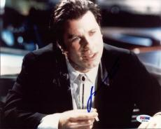 John Travolta Pulp Fiction Signed 8X10 Photo PSA/DNA #Q45432