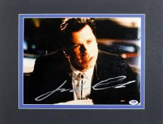John Travolta Pulp Fiction Signed Matted 11x14 Photo PSA/DNA #I85592