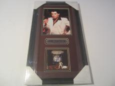 John Travolta Rare Signed Autographed Framed Saturday Night Fever Cd Book Jsa