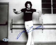 John Travolta Saturday Night Fever Signed 8X10 Photo BAS #C19223