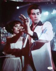 John Travolta Saturday Night Fever Signed 11X14 Photo JSA #E14129