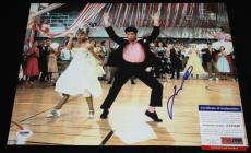 John Travolta signed 11 x 14, GREESE, Pulp Fiction, PSA/DNA AA25540
