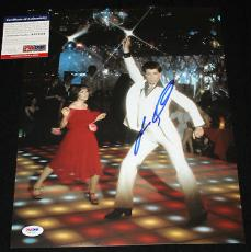 John Travolta signed 11 x 14, Saturday Night Fever, Pulp Fiction, Greese,PSA/DNA