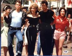 John Travolta Signed 11x14 Grease photo PSA/DNA # Z83832
