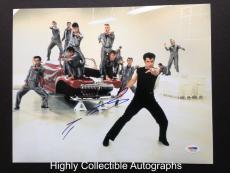 John Travolta Signed 11x14 Photo Autograph Psa Dna Coa Grease