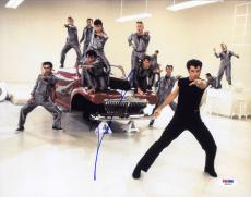 John Travolta SIGNED 11x14 Photo Danny Zuko Grease Lightning PSA/DNA AUTOGRAPHED