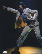 John Travolta Signed 11x14 Photo Saturday Night Fever Jsa Authentication E65567