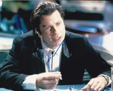 John Travolta Signed 8x10 Photo Authentic Autograph Grease Saturday Night Coa E