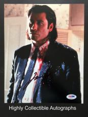 John Travolta Signed 8x10 Photo Autograph Psa Dna Coa Pulp Fiction Aa63877