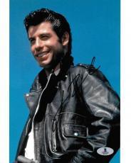 John Travolta Signed 8x10 Photo BAS Beckett COA Grease Movie Picture Autograph
