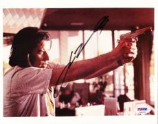 John Travolta Signed 8x10 Photo Pulp Fiction Authentic Autograph Psa/dna Coa
