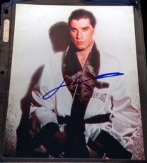 John Travolta Signed 8x10 Photograph Guaranteed Authentic