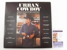 John Travolta Signed Album Urban Cowboy Movie Soundtrack w/ JSA AUTO